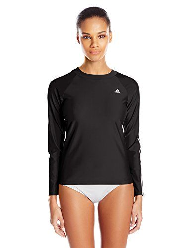 60f32e6dc9f83 adidas Women s Long Sleeve Swim Tee     You can find more details by  visiting the image link.