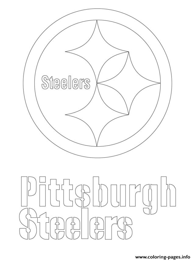 Print Pittsburgh Steelers Logo Football Sport Coloring Pages Pittsburgh Steelers Logo Pittsburgh Steelers Pictures Pittsburgh Steelers Crafts