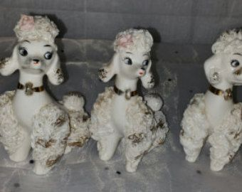 Vintage Spaghetti Poodles French Females (5) - Edit Listing - Etsy