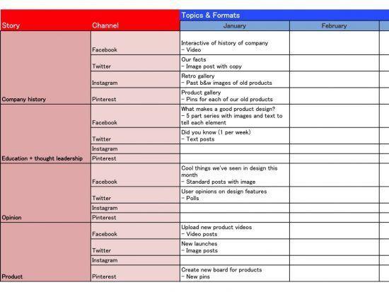 Creating Your Social Media Content Strategy Plan Smart Insights Digital Marketing Social Media Content Strategy Social Media Plan Example Social Media Planning