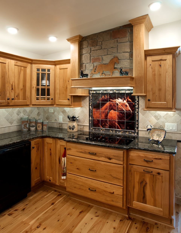 rustic western backsplash Google Search Ideas for the home