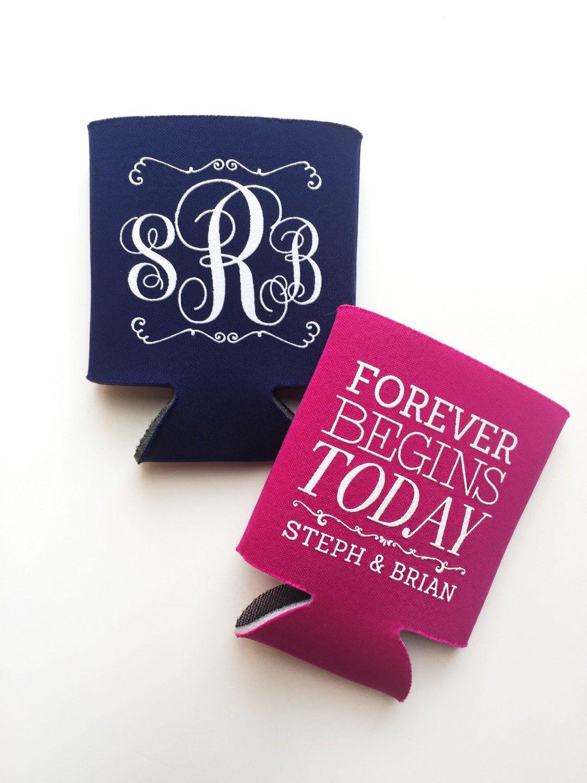 Monogrammed Wedding Favor, Custom Wedding Monograms, Forever Begins ...