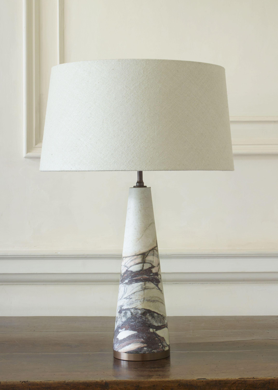 Austin Cement Stone Ceramic Table Lamp