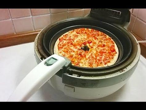 Pizza Backen In Der Tefal Actifry Heissluftfritteuse Youtube Actifry Recipes Tefal Actifry Actifry