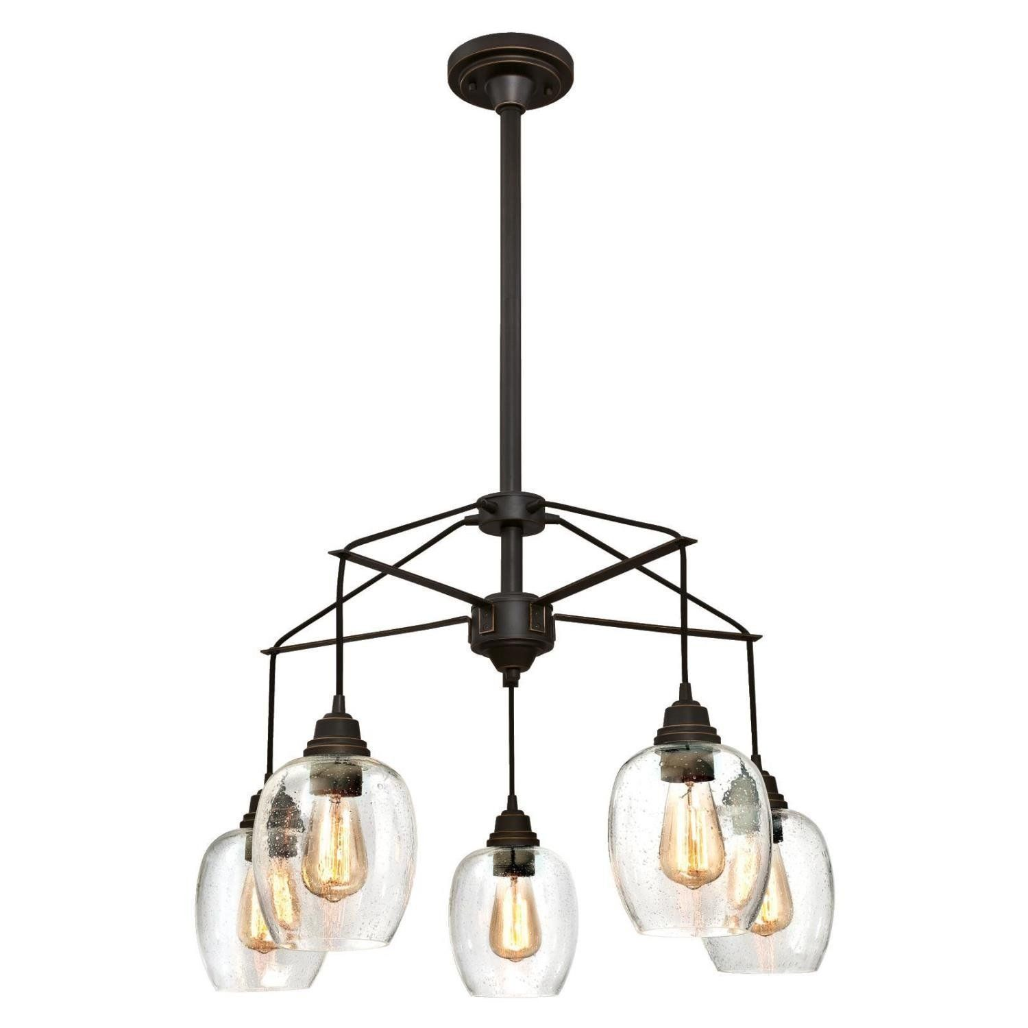 Westinghouse Eldon Five Light Indoor Chandelier Oil