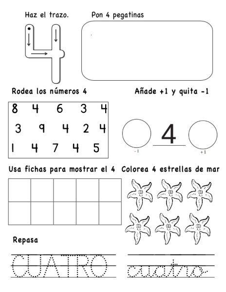 Desde el blog de encontramos este material para aprender los números ...