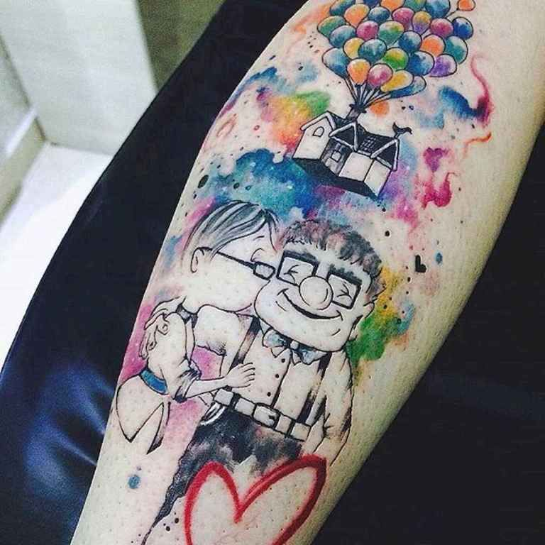 18 most beautiful watercolor tattoos art ideas disney