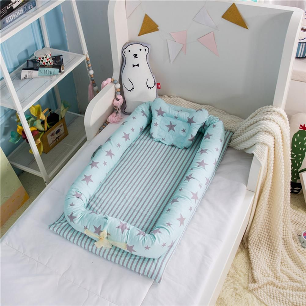 Baby Nest Bed Multi Functional Travel Bed With Bumper Mattress Baby Gear City Baby Bed Portable Baby Bed Portable Baby Cribs