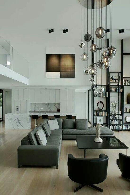 Wohnzimmer Mit Galerie | Wohnzimmer | Pinterest | Wohnzimmer Moderne Wohnzimmer Mit Galerie