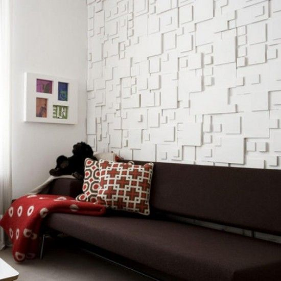 Contemporary Modern Wallpaper Texture White Home Wall Decor