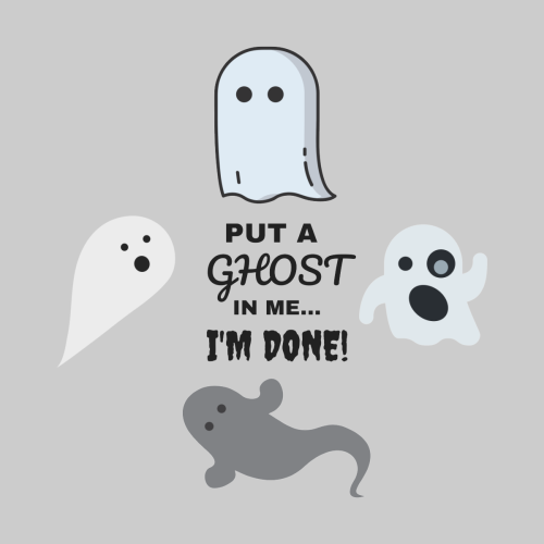 Put A Ghost In Me I M Done Kim And Ket Stay Alive Maybe In 2020 Cute Ghost Ghost Im Done