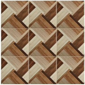Merola Tile Austin Natural 17-3/4 in. x 17-3/4 in. Ceramic Floor and ...