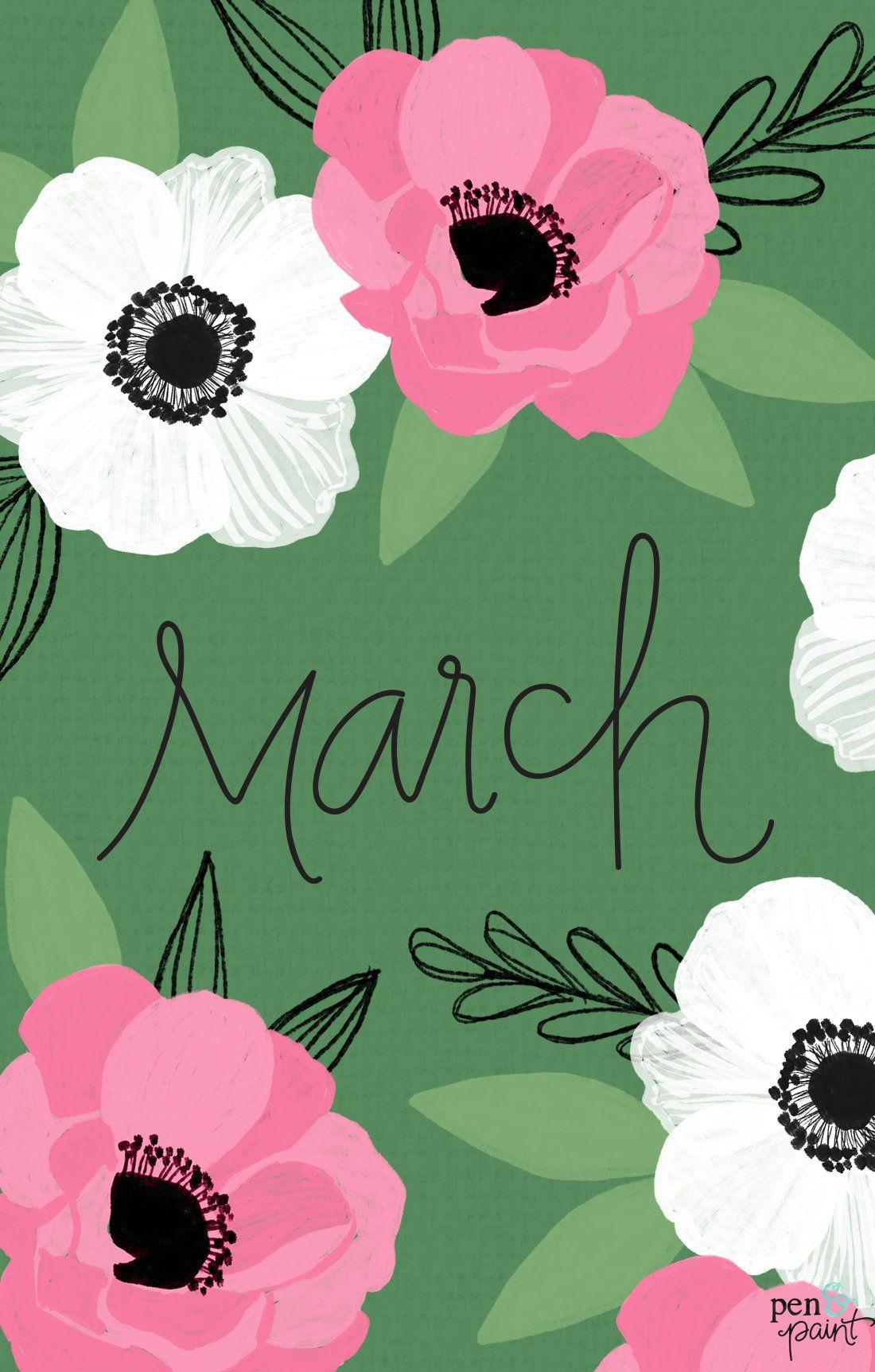 Free March Desktop Background Wallpaper In 2020 Holiday Iphone Wallpaper Spring Desktop Wallpaper Iphone Wallpaper Preppy