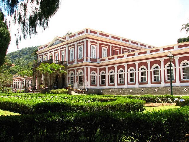 Imperial Summer Palace, Petropolis, Brazil - Built in 1845 by Pedro II, Emperor of Brazil.