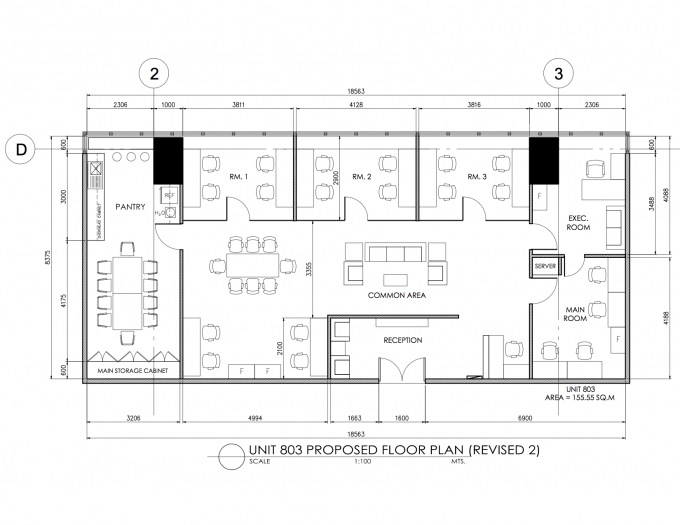 Caves and commons office design google search office for Typical office floor plan