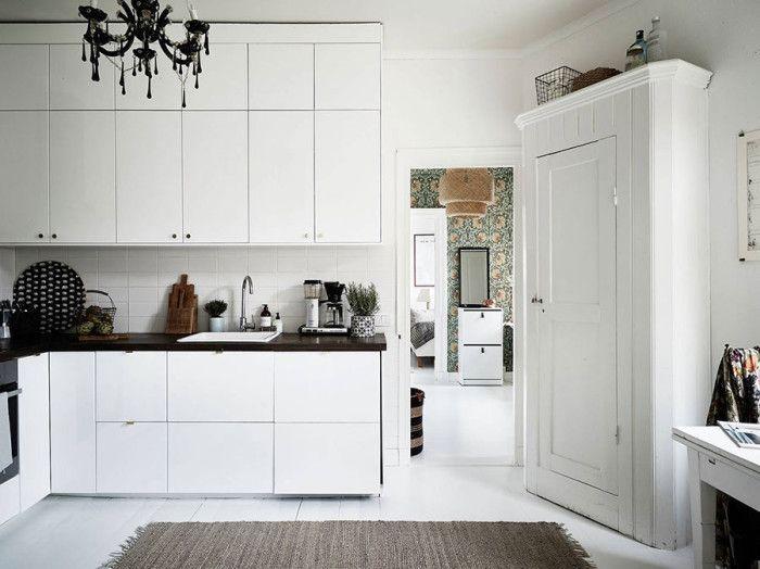 Elle Decor Sweden | White Kitchen