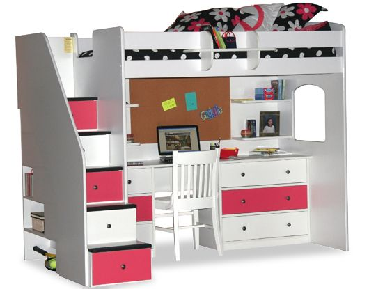 New Fergie S Stairway Loft Bed With A Few Adjustments Combo