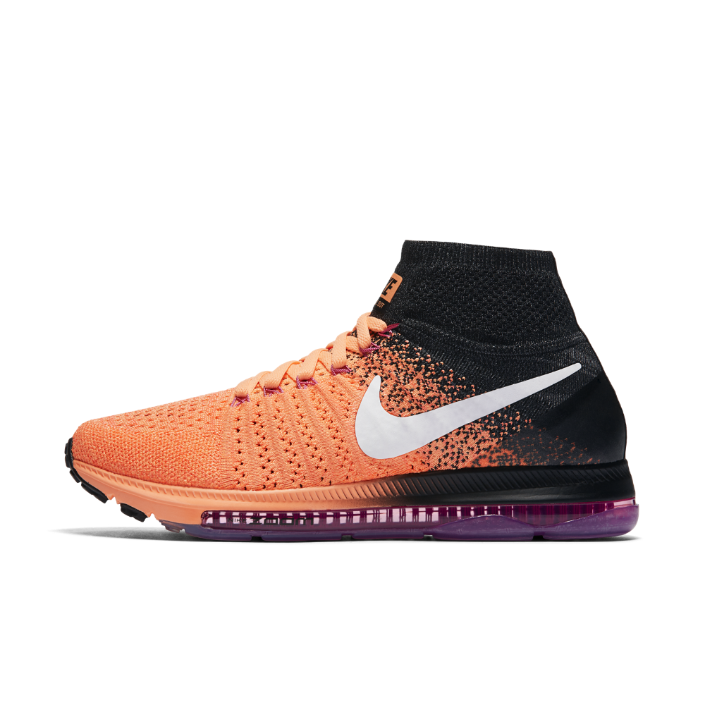 acbeea94f706 ... france nike air zoom all out flyknit womens running shoe size 10.5  orange clearance sale 23e32