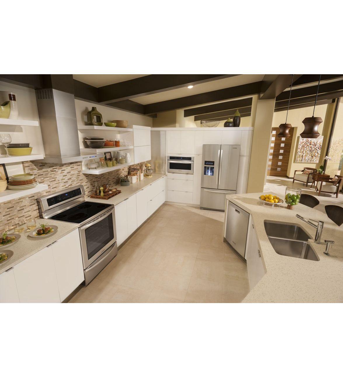 KitchenAid® 30u0027u0027 Wall Mount 600 CFM Canopy Hood, Architect® Series