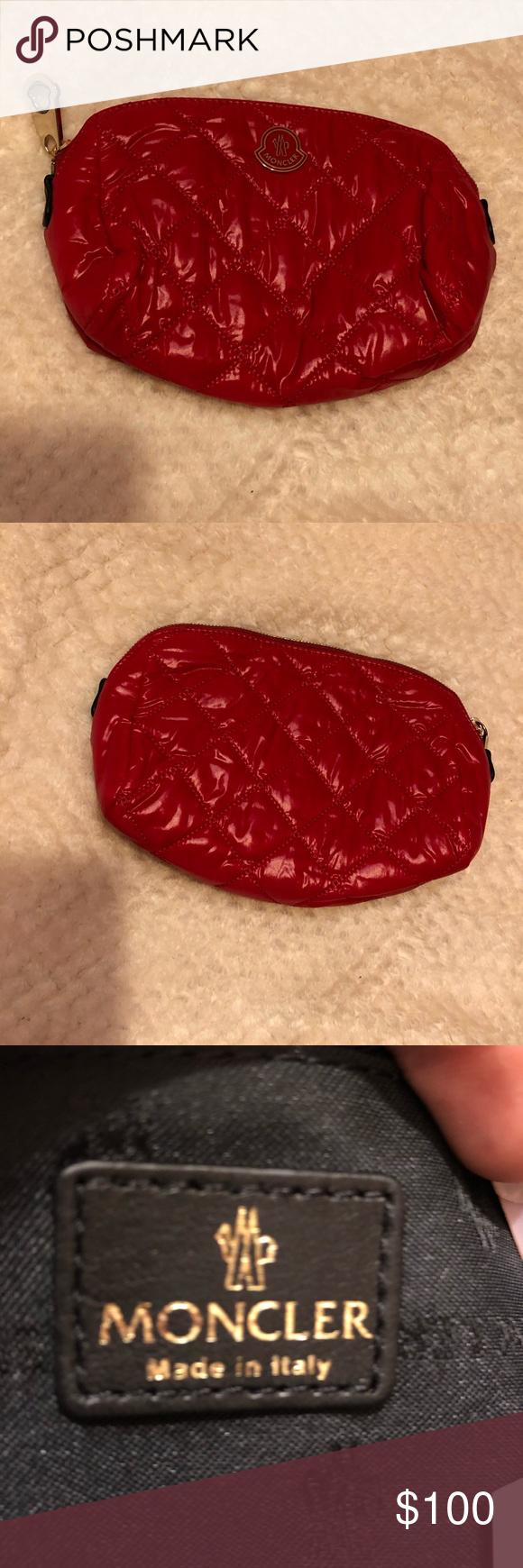 Moncler Cosmetic bag | Cosmetic bag, Moncler, Cosmetics