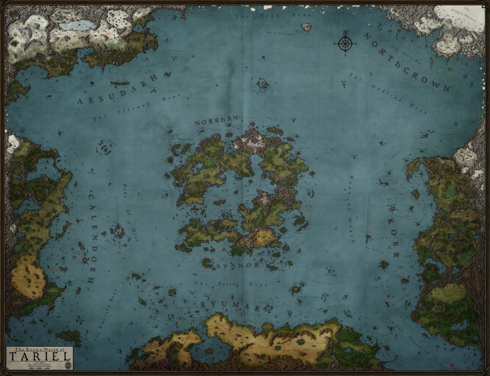 Tariel World Map by on DeviantArt world map Pi