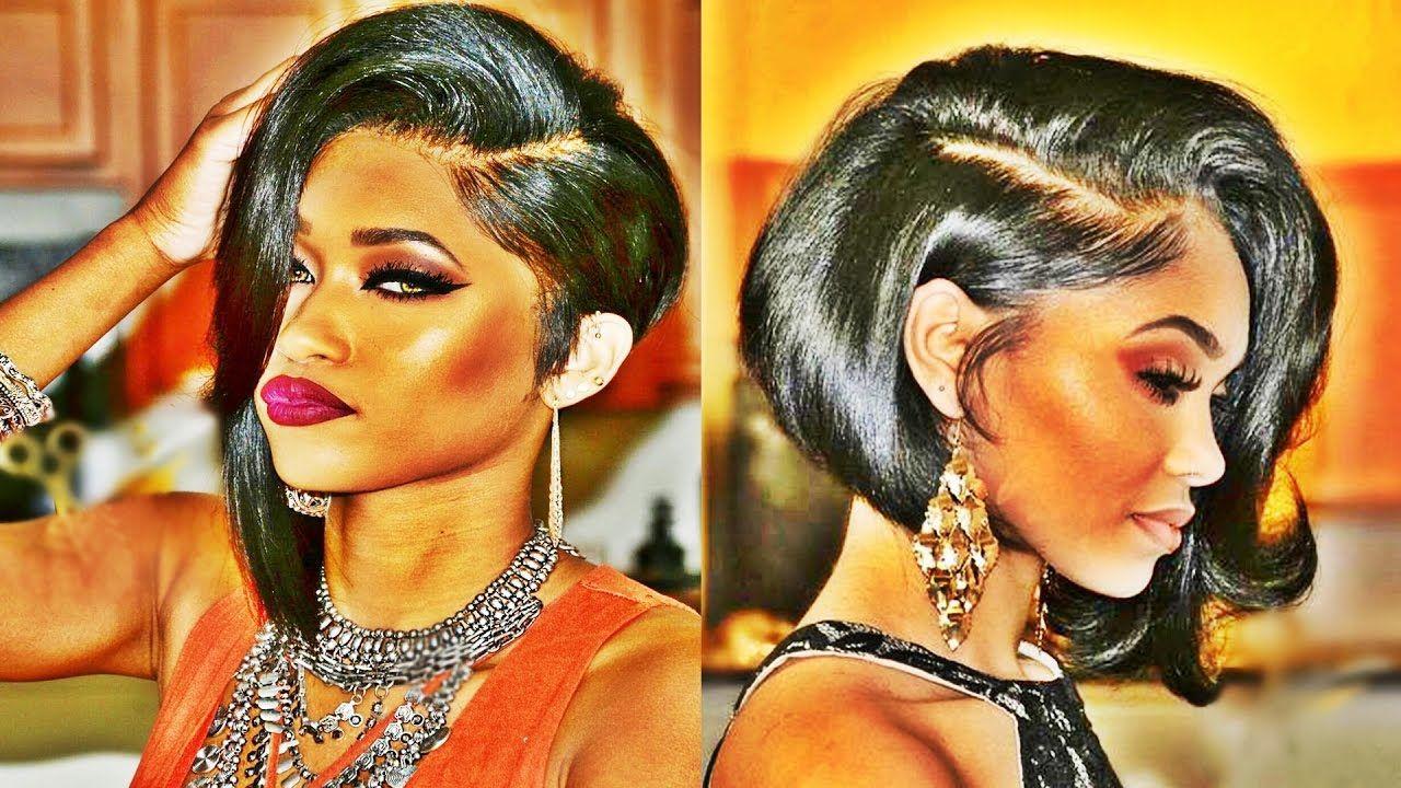 Sexiest Bob Haircuts For American u African Women  YouTube  Hair