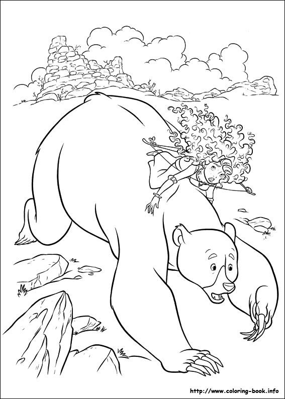 Brave coloring picture | Disney Coloring Pages | Pinterest ...
