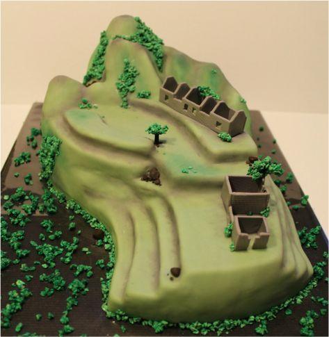 Photo of Machu Picchu Kuchen –  Machu Picchu Torte aus einem Schoko-Nuss Kuchen als pinat…