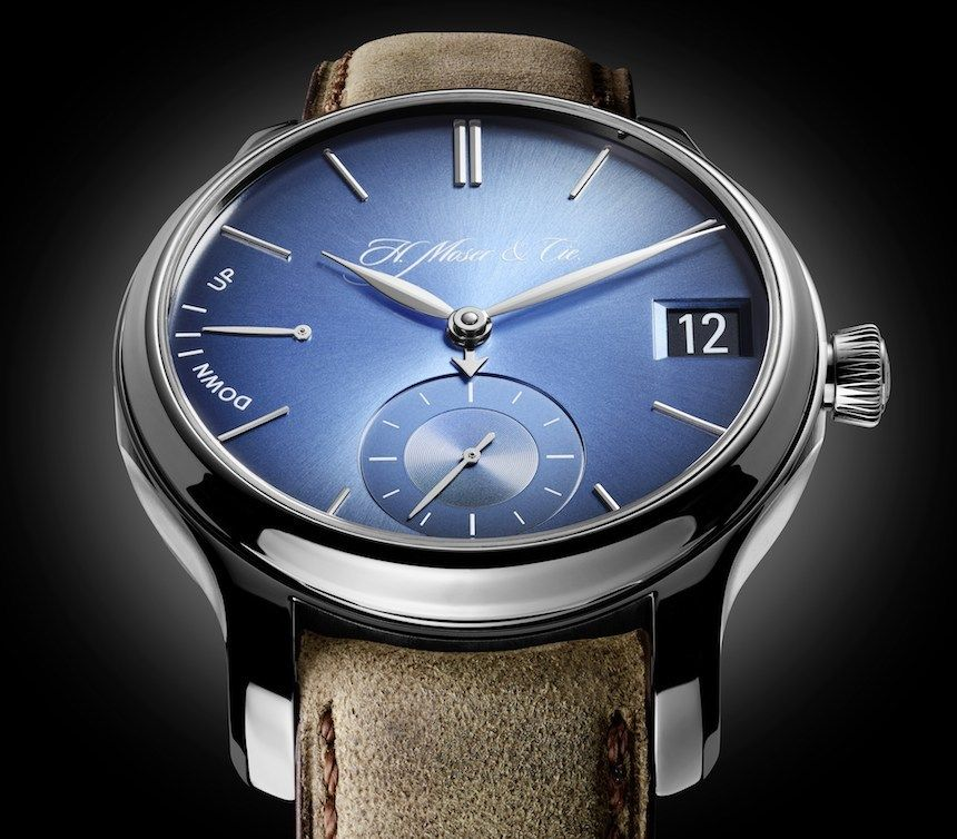 H. Moser and Cie Perpetual Calendar Watch