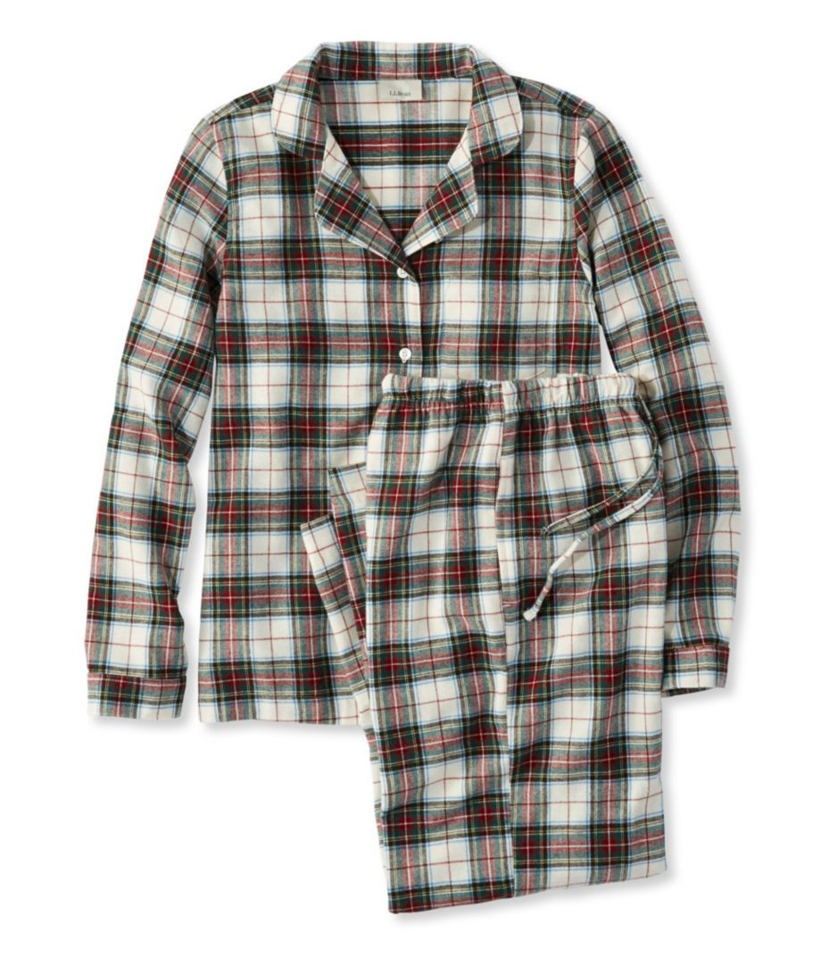 Red flannel nightgown  Scotch Plaid Flannel Pajamas  Hannahus Wish List  Pinterest