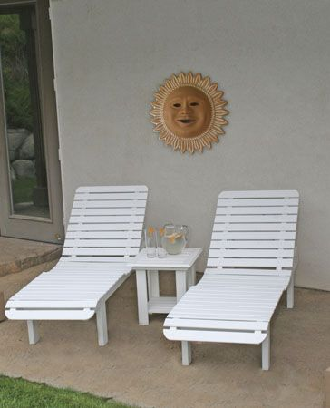 White Patio Lounge Chair | Avalon Patio Lounge Chair   Outdoor Resin Patio  Furniture : TuwA