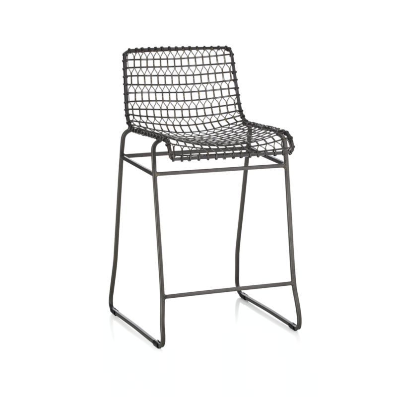 I Can T Get Enough Of This Trendy Black Wire Stool The