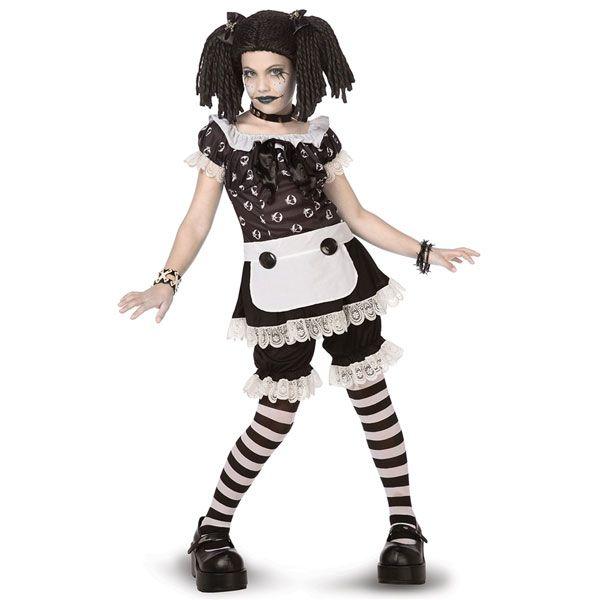 Gothic rag doll halloween Pinterest Teen costumes, Boy