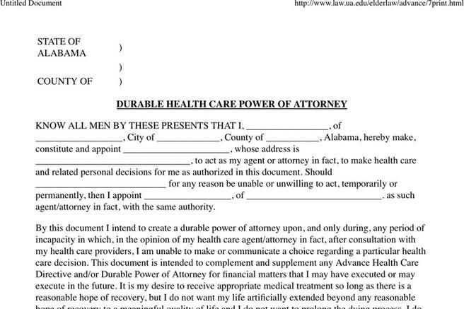 Free Missouri Power of Attorney Form to download