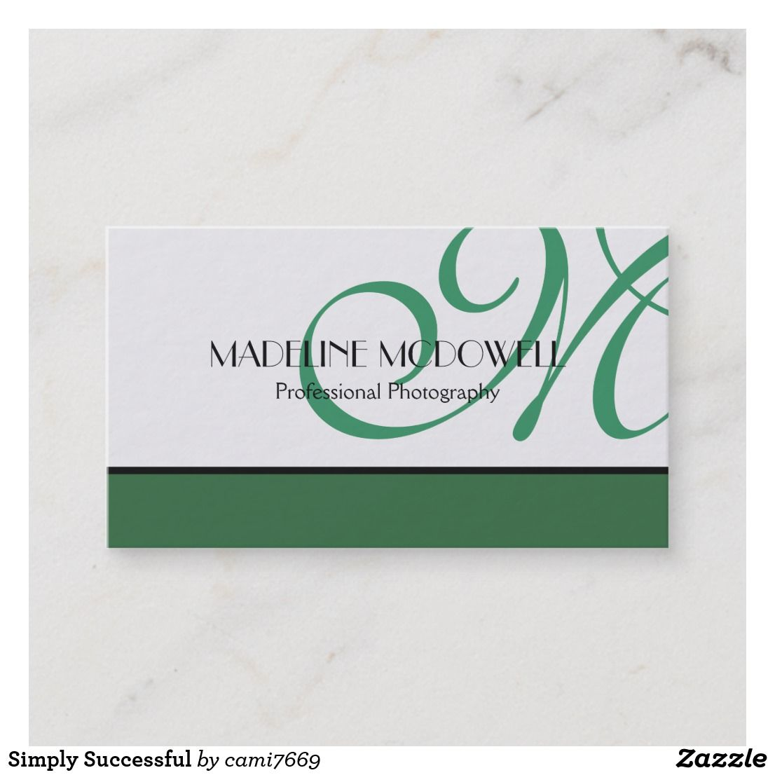 Simply Successful Business Card Zazzlecom Nice Looking Business