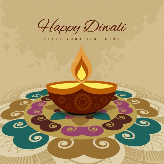 Download Diwali Card With Colorful Ornaments For Free Diwali Wishes Diwali Greetings Diwali Greeting Cards