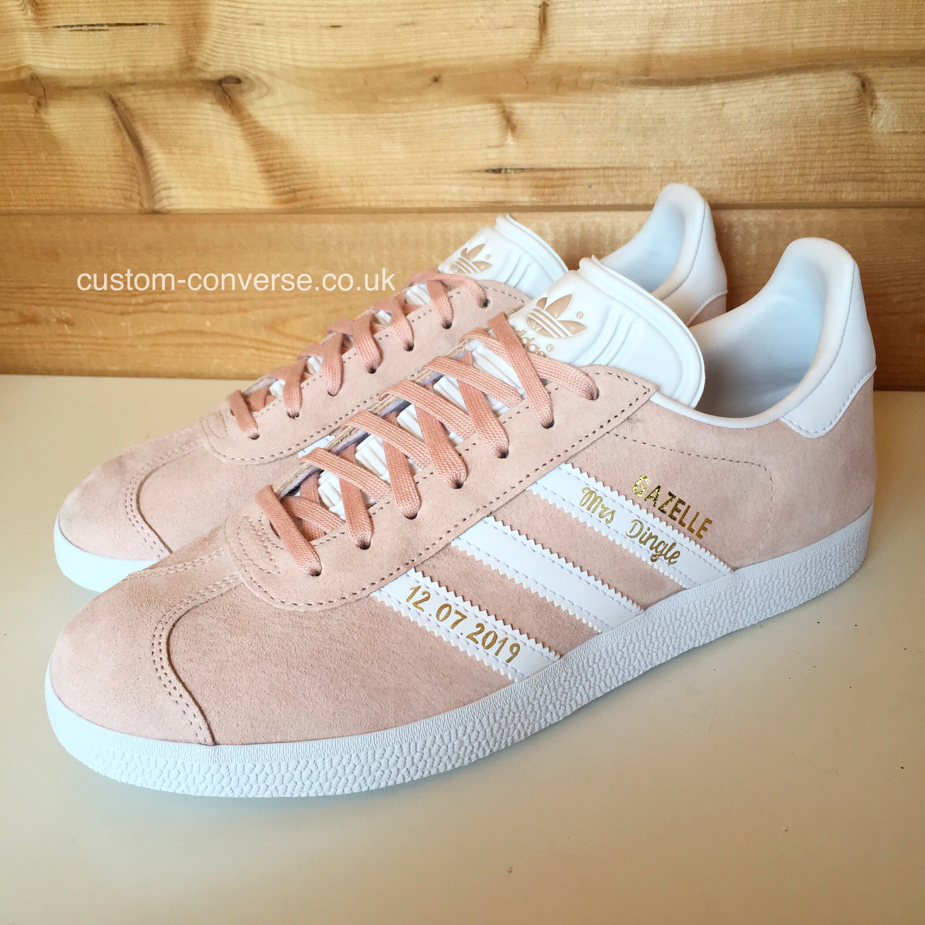 Customised Adidas Wedding Trainers l