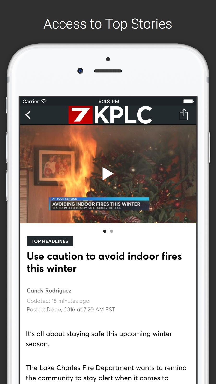 Kplc 7 News Ios Apps App Weather Apples To Apples Game Games To Play App