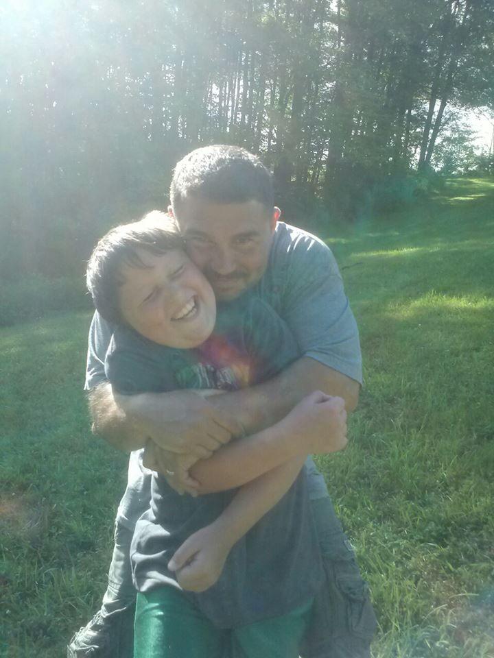 Logan and his Dad, Lou