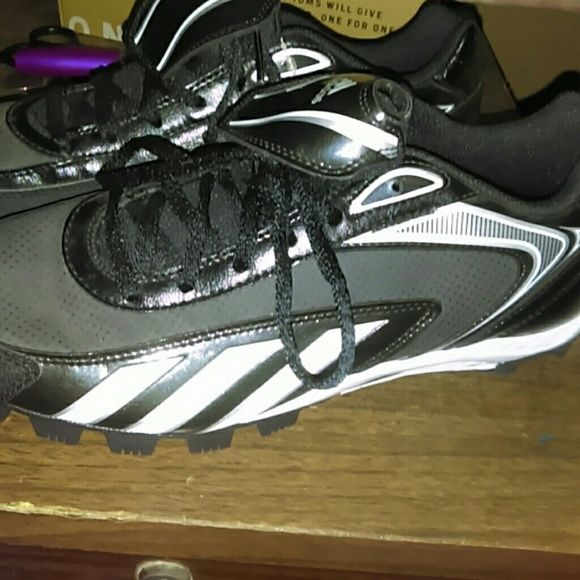 Baseball cleats NWOT Adidas Shoes Athletic Shoes