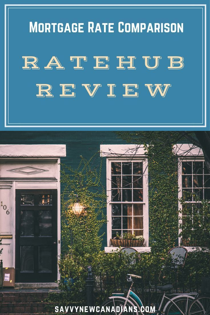 Ratehub Ca Review Online Mortgage Rates Comparison Home