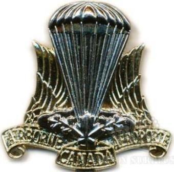 Canadian Airborne Cap Badge