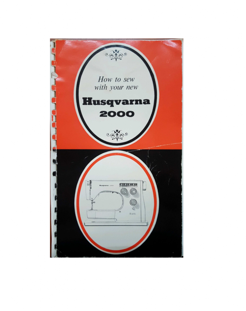 Husqvarna 2000 Instruction Manual (Download)