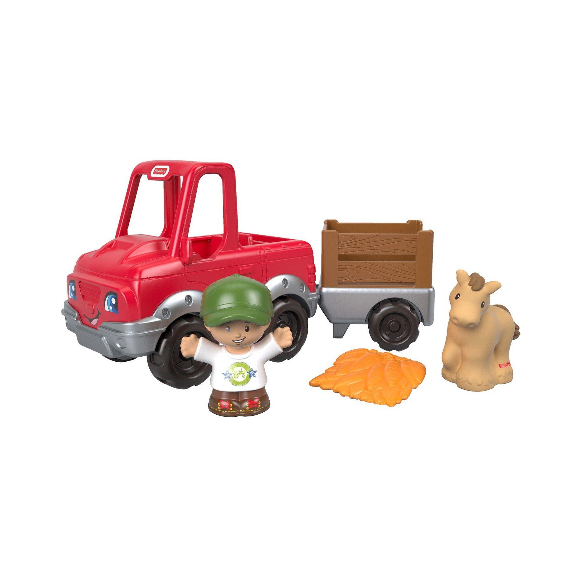 Little people car toys  FisherPrice Little People Handy Helper Farm Truck  Products