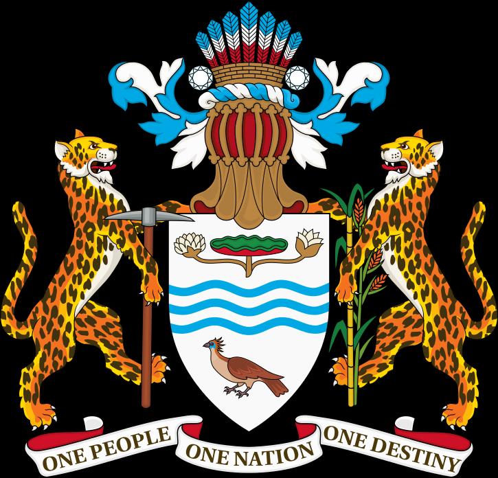 Guyana Coat Of Arms Guyana Flag History