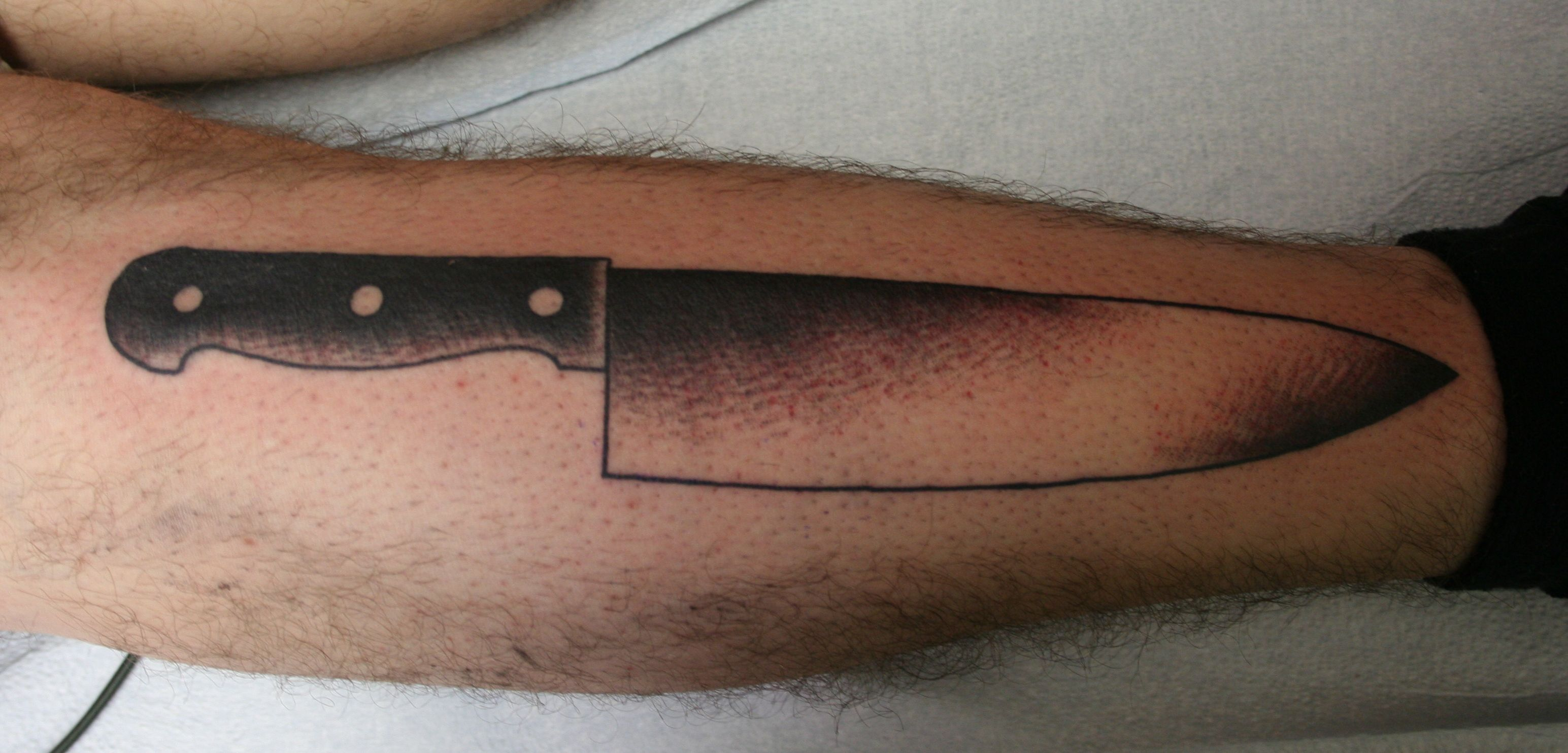 Kitchen Knife Tattoo Google Kereses Tattoo Pinterest Tattoos
