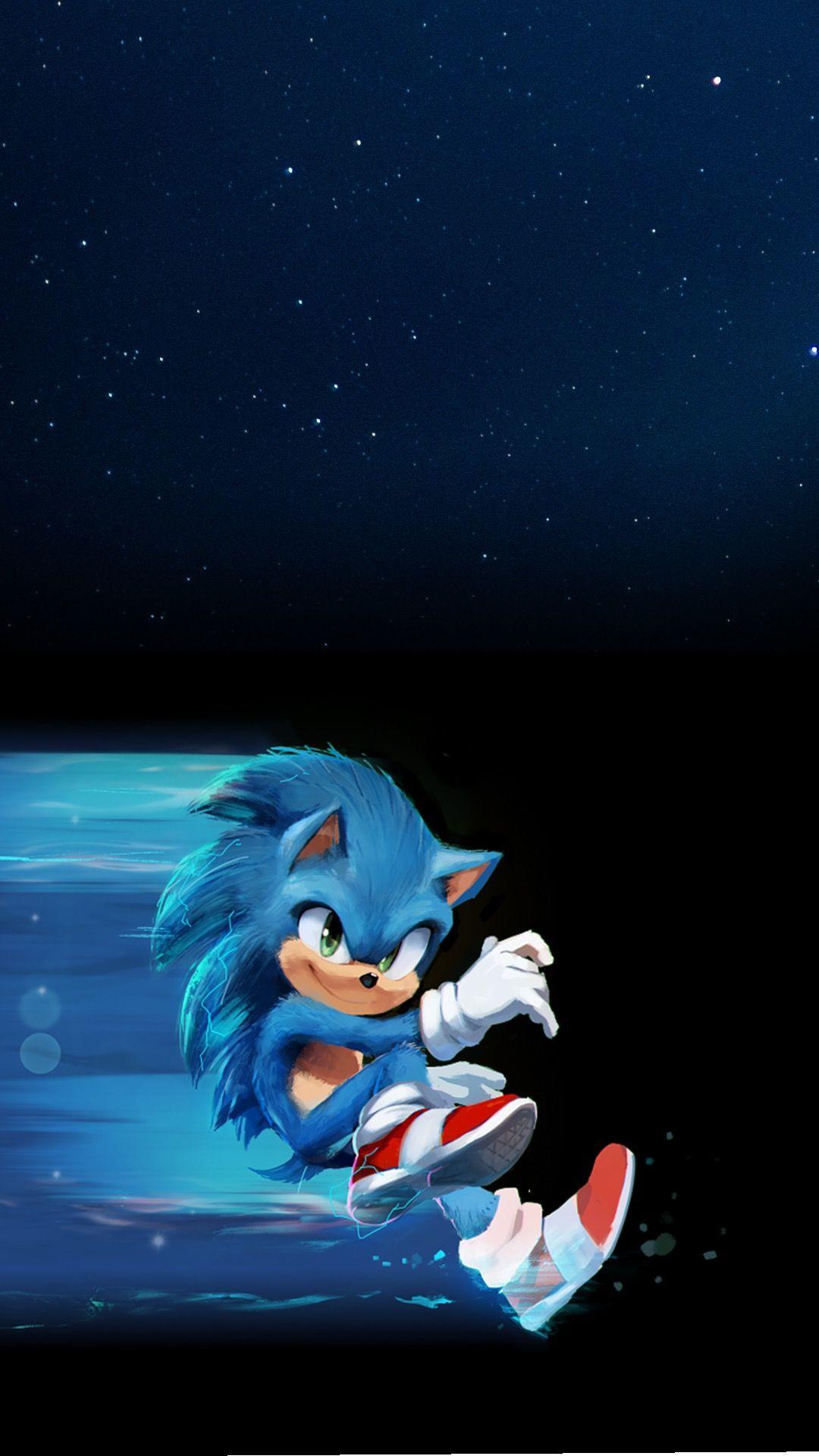 iphone 7 sonic the hedgehog movie wallpaper