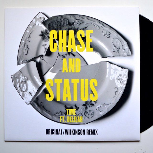 Vinyl cover. Chase and Status. Graphic design.