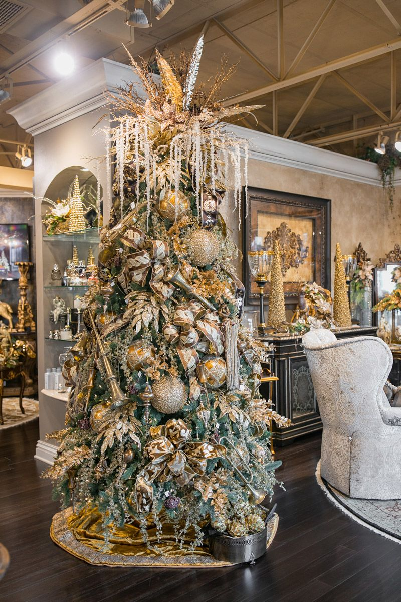 Luxury Christmas Tree Decorating Luxury Christmas Tree Decorating With Christmas Lights Luxury Christmas Decor