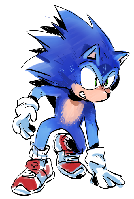 Put Some Quick Inks On That Sonic Picture Sonic The